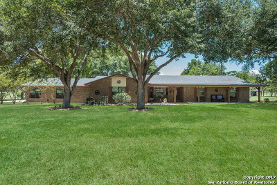 La Vernia Single Family Home For Sale: 4812 Fm 775