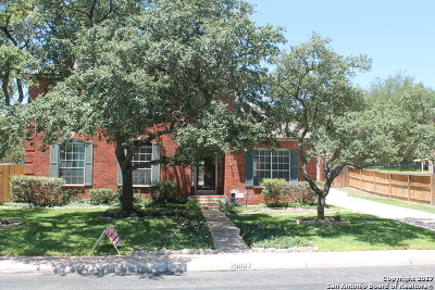 Stone Oak Single Family Home Back on Market: 25003 Arrow Rdg
