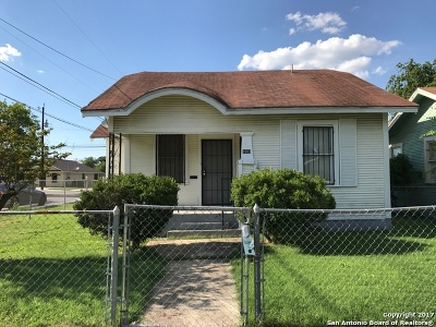 Single Family Home Price Change: 1603 Hays St