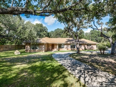 Shavano Park Single Family Home Back on Market: 16203 NW Military Hwy