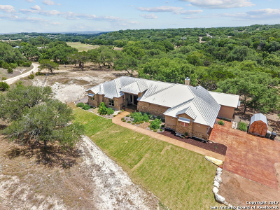 Canyon Lake Single Family Home For Sale: 1668 Rebecca Ranch