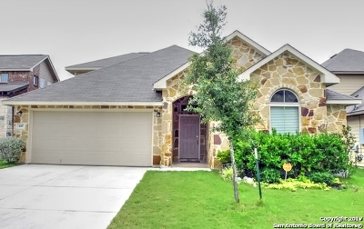 Cibolo Single Family Home Back on Market: 449 Cactus Flower
