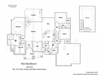 Spring Branch Single Family Home For Sale: 2303 Cascada Pky