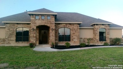 Wilson County Single Family Home Price Change: 117 S Abrego Xing