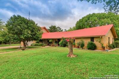 Bandera County Single Family Home For Sale: 21851 North Highway 16