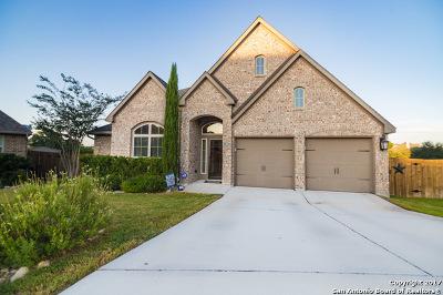 San Antonio Single Family Home Price Change: 13803 Benedetta