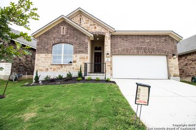 San Antonio Single Family Home Price Change: 5411 Carriage Cape