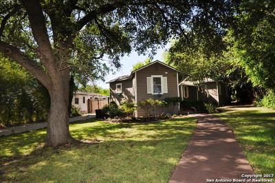 Terrell Hills Single Family Home Price Change: 804 Elizabeth Rd
