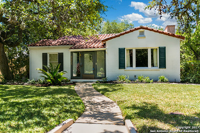 Alamo Heights Single Family Home For Sale: 322 Evans Ave