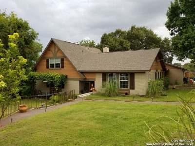 Leon Valley Single Family Home For Sale: 5912 Trone Trail