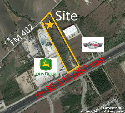 New Braunfels TX Commercial Lots & Land For Sale: $1,300,000