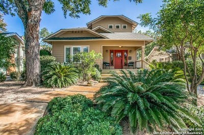 Alamo Heights Single Family Home Price Change: 311 Argo Ave