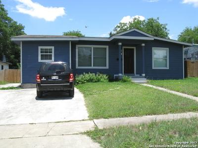San Antonio Single Family Home Back on Market: 147 Future Dr