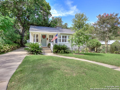 San Antonio Single Family Home Back on Market: 255 E Fair Oaks Pl