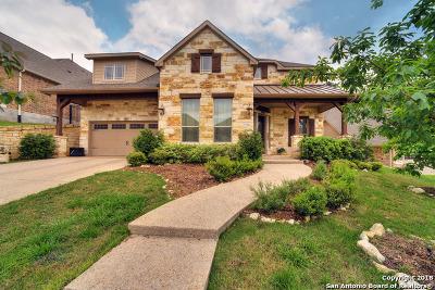 San Antonio Single Family Home Price Change: 17042 Sonoma Ridge