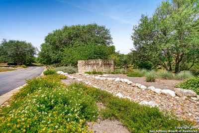 Boerne Residential Lots & Land For Sale: 25018 Caliza Cv