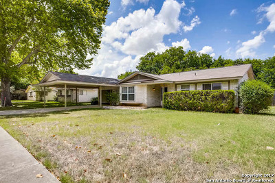 Schertz Single Family Home Price Change: 113 Valley Oak Dr