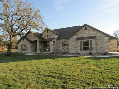 La Vernia Single Family Home For Sale: 104 Woodlands Dr