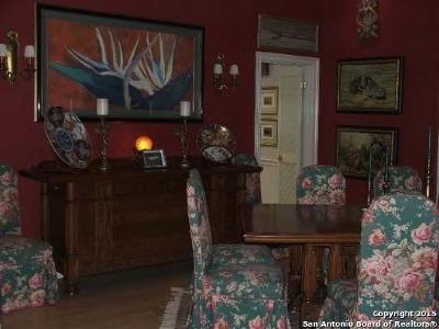 San Antonio TX Single Family Home For Sale: $678,000