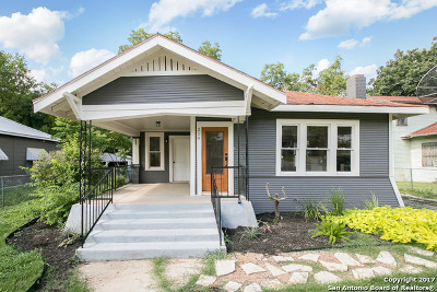San Antonio Single Family Home Back on Market: 214 Carolina St