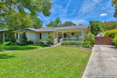 San Antonio Single Family Home Price Change: 107 Larkwood Dr