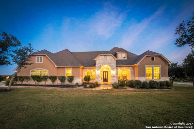 Comal County Single Family Home For Sale: 884 Via Principale