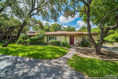 Terrell Hills Single Family Home Back on Market: 628 Morningside Dr