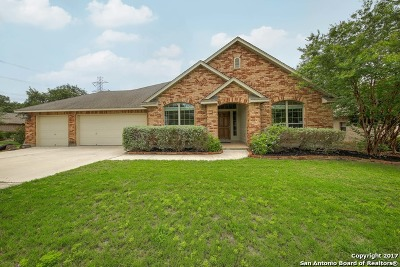 Single Family Home New: 9210 Helotes Oaks