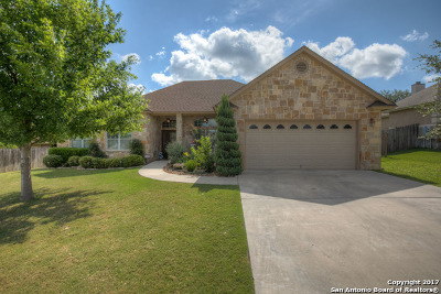 Comal County Single Family Home Price Change: 1159 Cherry Hl