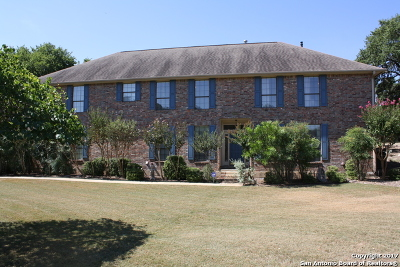 Boerne Single Family Home For Sale: 26880 Nelson Hill