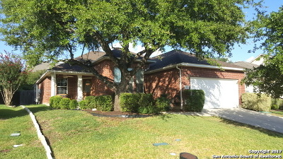 Bexar County Single Family Home Price Change: 1431 W Camden Cove
