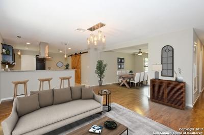 San Antonio Single Family Home Price Change: 342 Quentin Dr