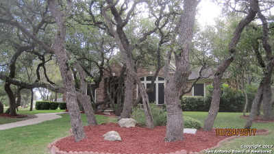 Boerne Single Family Home Active RFR: 28226 Heritage Trail