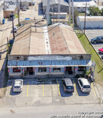 Bandera County Commercial For Sale: 1110 Cedar St-Gingerbread House