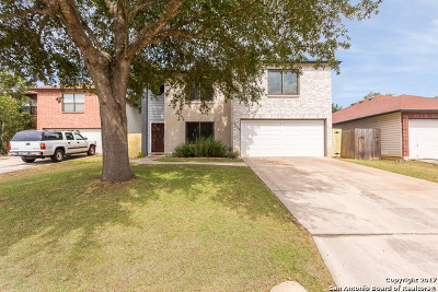 Single Family Home New: 12522 Persimmon Fall