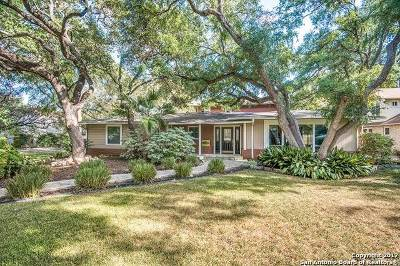 Alamo Heights Single Family Home For Sale: 302 Tuxedo Ave
