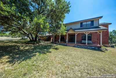 Bulverde Single Family Home For Sale: 30840 Leroy Scheel Rd