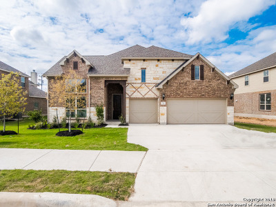 Schertz Single Family Home Price Change: 724 Mesa Verde