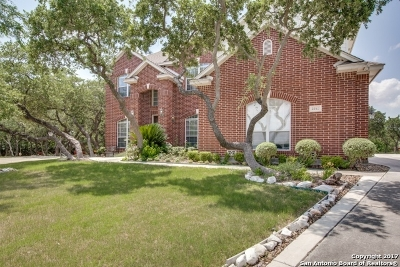 San Antonio Single Family Home For Sale: 22511 Boneta Cv