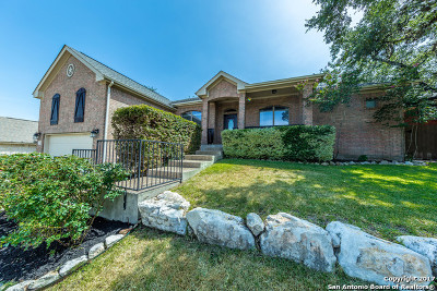 San Antonio Single Family Home Price Change: 1410 Muleshoe Pass