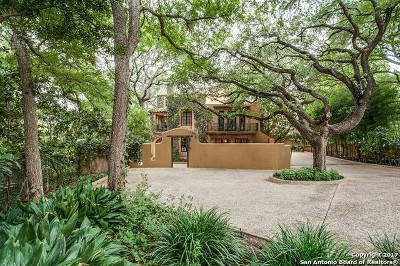Alamo Heights Single Family Home Price Change: 204 Crescent St
