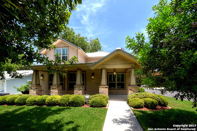 Alamo Heights Single Family Home For Sale: 301 Alta Ave