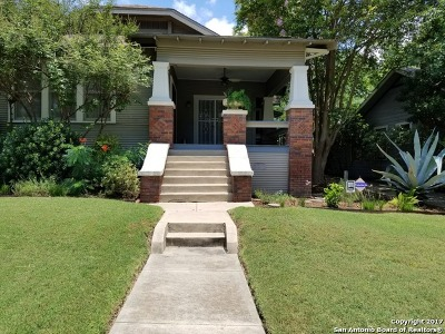 San Antonio Single Family Home Back on Market: 411 E Huisache Ave