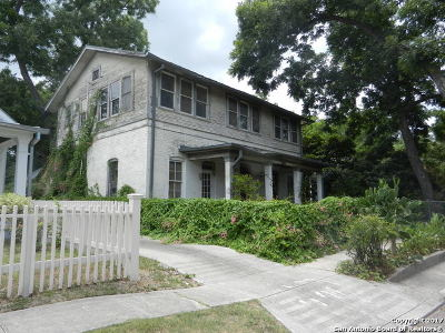 Bexar County Single Family Home Price Change: 219 Adams St