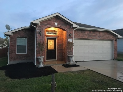 Cibolo Single Family Home Back on Market: 345 Longhorn Way