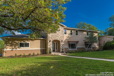 San Antonio Single Family Home For Sale: 442 E Hathaway Dr