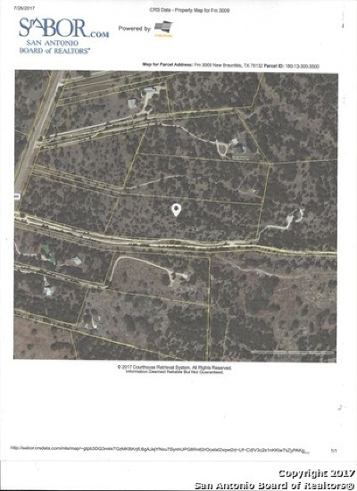 Comal County Residential Lots & Land For Sale: Fm 3009