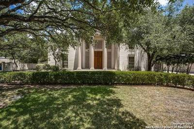 San Antonio Single Family Home For Sale: 7614 Woodhaven