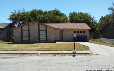 Kirby Single Family Home For Sale: 812 Hickory Hill Dr