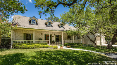 Boerne Single Family Home Active RFR: 9537 Deer Ridge Dr